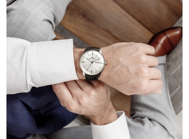 Presenting The Classic Heritor With White Dial Steel Mens Automatic Watch RGA8238